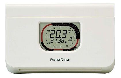 Chrono-thermostat à programme hebdomadaire / journalier + boutons