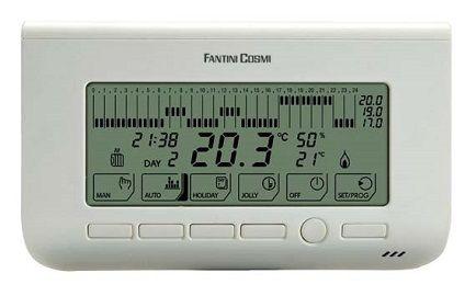 Chrono-thermostat MiA avec écran afficheur - Fantini Cosmi