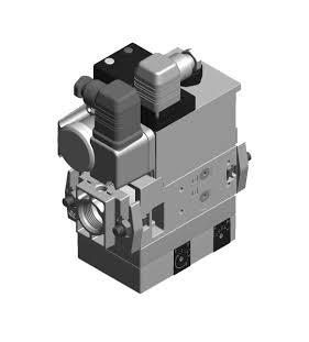 Bloc vanne gaz MB VEF 412 B01 S32 - Dungs