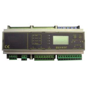 Centrale détection gaz industriel rail DIN 4 sondes BX449F D-TEK