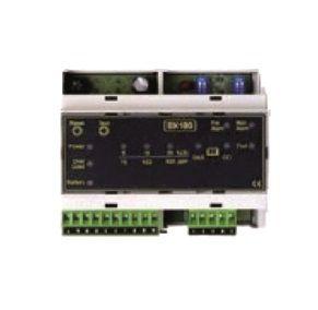 Centrale de détection gaz industriel rail DIN 1 sonde BX180 D-TEK