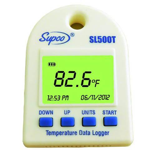 Mini enregistreur de température SL500T & SL500TH - Supco