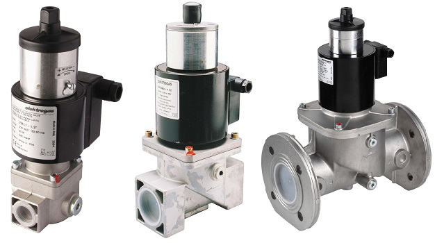 Électrovanne gaz en aluminium 500 mbar - Série VML - Elektrogas