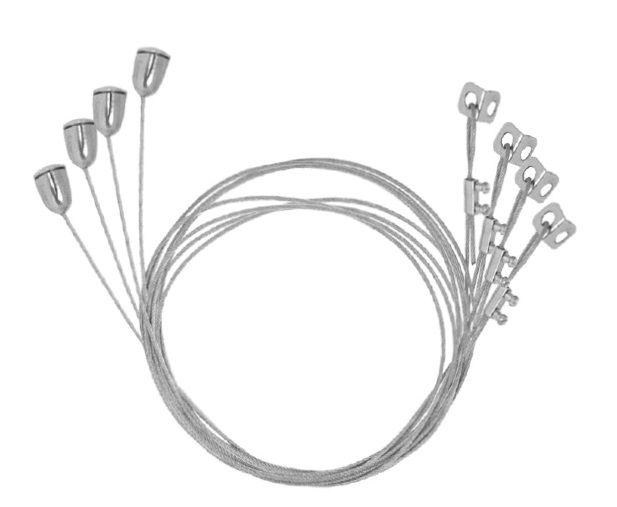 Kit de suspension de sécurité pour panneau LED
