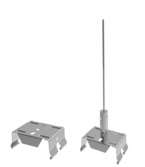 Kit de suspension barre linéaire LED Trunking 60W