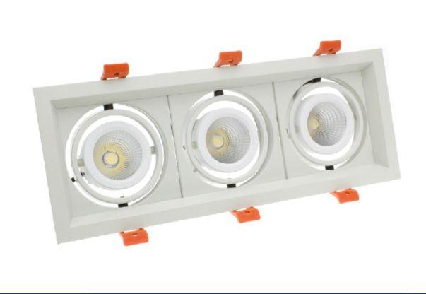 Spot LED Créé-COB Madison orientable 3x10W