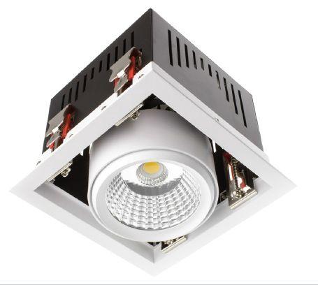 Projecteur LED Grill orientable COB - Existe en 30W et 60W