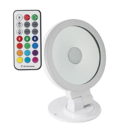 Projecteur LED orientable 360° RGB Blanc - 10W et 20W