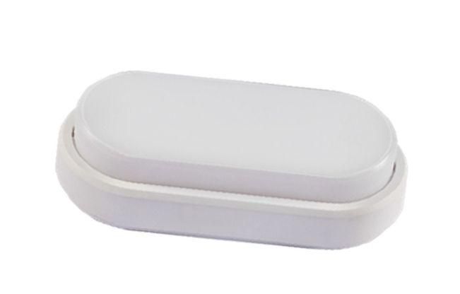 Plafonnier LED ovale hublot 12W White