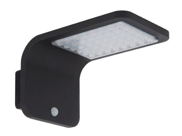 Applique LED Solaire Brasil avec détecteur de présence PIR IP65
