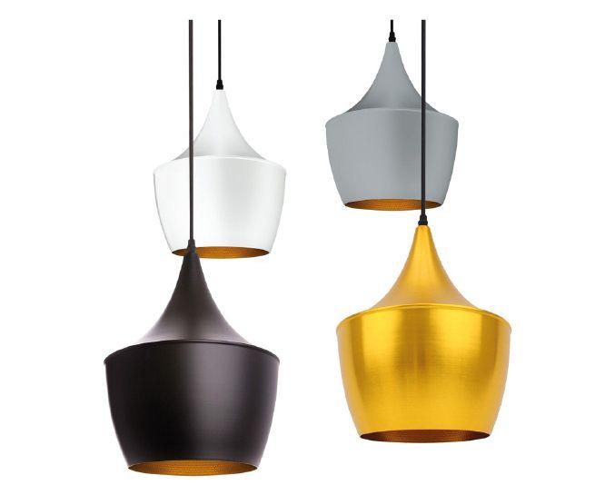 Lampe suspendue Mercury (blanc, noir, gris, or)