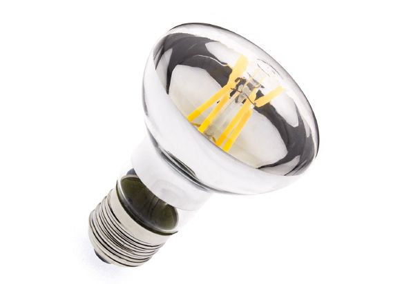 Ampoule LED E27 dimmable filament R63 3.5W