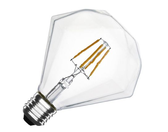 Ampoule LED E27 dimmable filament Diamond G105 3.5W