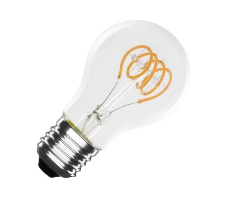 Ampoule LED E27 dimmable filament Spirale Classic A60 4W