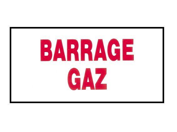 Étiquettes rigides pour chauffage gaz - Signalétique