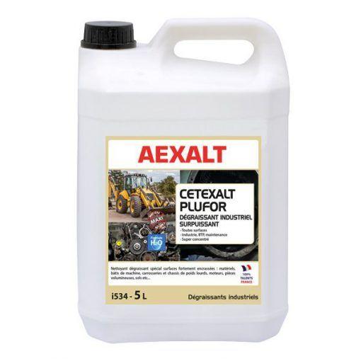 Dégraissant industriel multifonction CETEXALT PLUFOR Aexalt