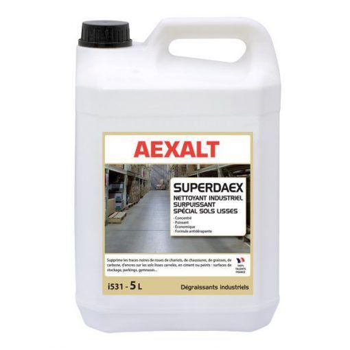 Nettoyant industriel spécial sols lisses SUPERDAEX - Aexalt