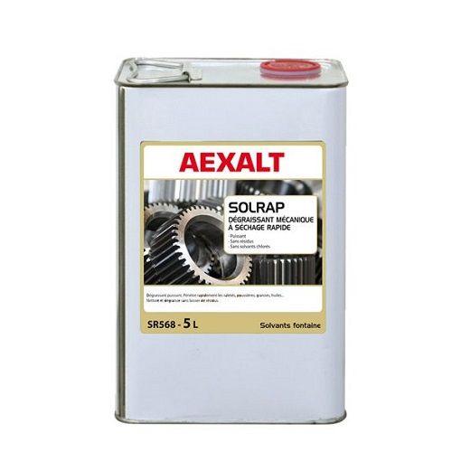 Dégraissant mécanique à séchage rapide SOLRAP Aexalt