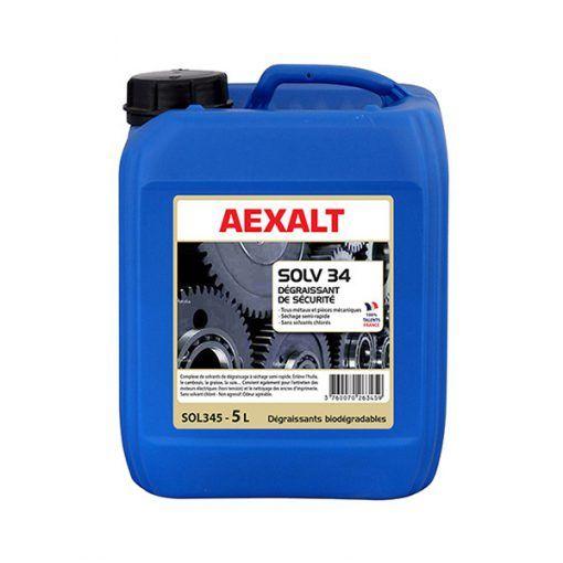 Dégraissant de sécurité tous métaux et pièces mécaniques SOLV 34