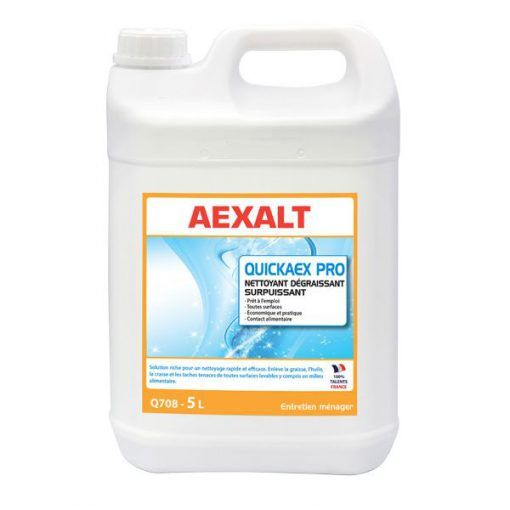 Nettoyant dégraissant polyvalent toutes surfaces QUICKAEX PRO