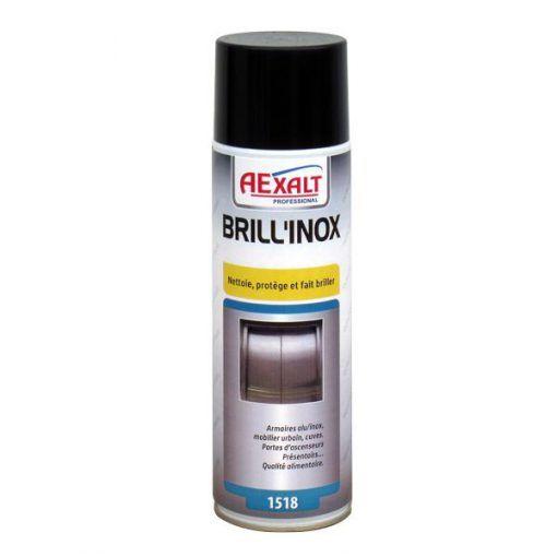 Nettoyant surface acier inoxydable 650ml BRILL\'INOX