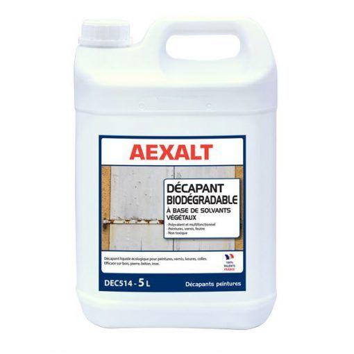 Décapant peinture liquide écologique et biodégradable 5L AEXALT