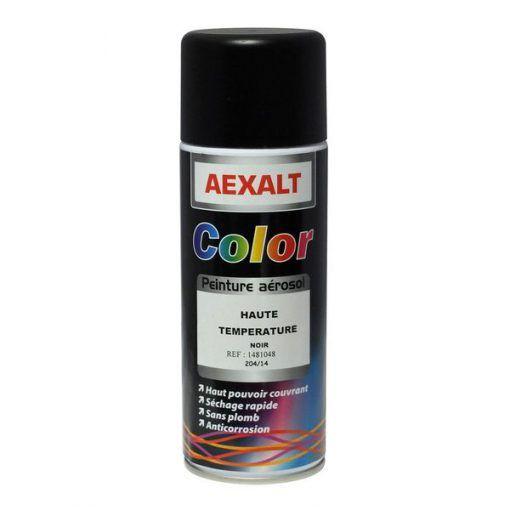 Peintures RAL hautes températures aérosol 520 ml Aexalt