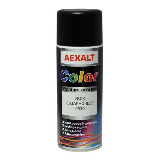 Cataphorèses noir et gris brut aérosol 520ml Aexalt