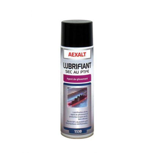 Lubrifiant sec au PTFE aérosol 650ml Aexalt