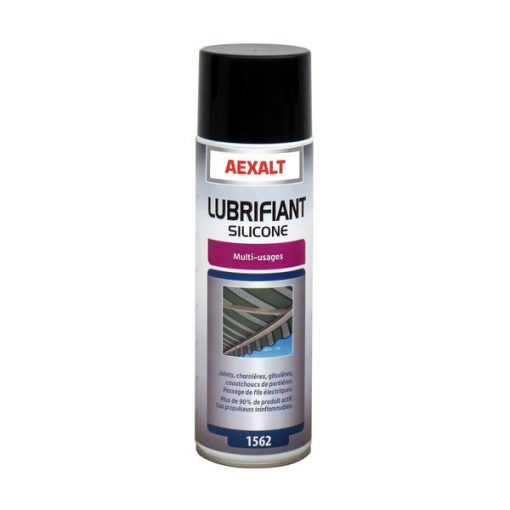Lubrifiant silicone multi-usages aérosol 650ml Aexalt