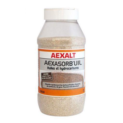 Absorbant huiles et hydrocarbures 1kg AEXASORB\'UIL Aexalt