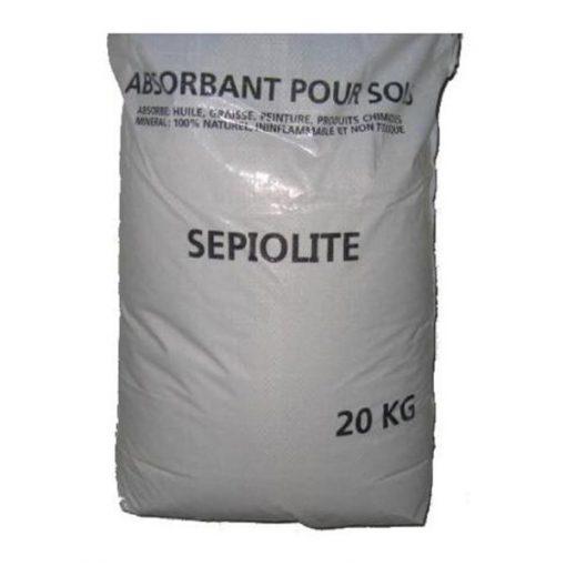 Absorbant minéral sol sec sepiolite sac 20kg Aexalt