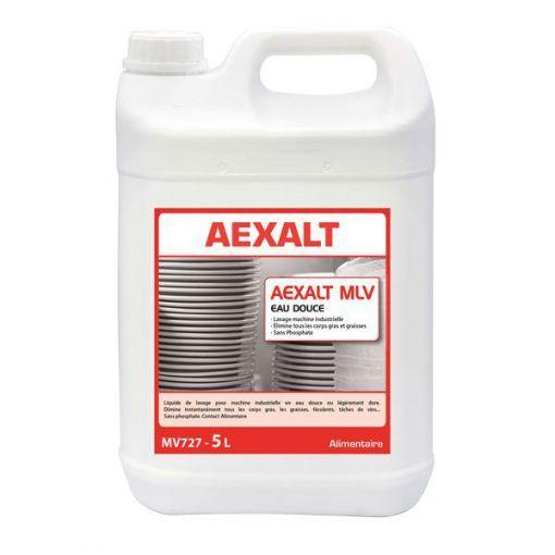 Liquide de lavage pour machine industrielle 5L AEXALT MLV