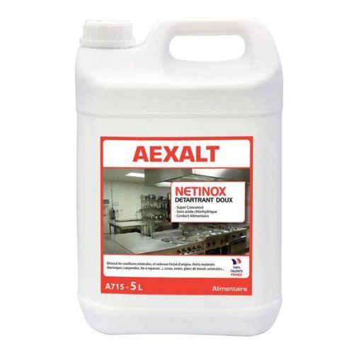 Détartrant doux pour milieu alimentaire 5L NETINOX Aexalt
