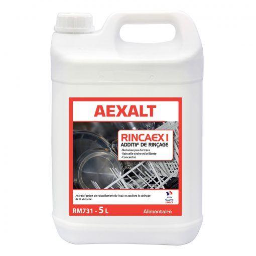 Liquide de rinçage spécial lave-vaisselle RINCAEX Aexalt
