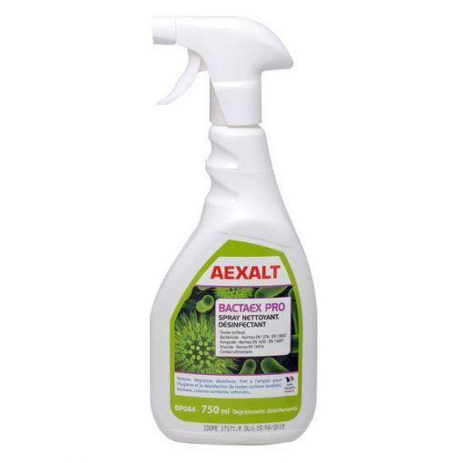 Spray nettoyant et désinfectant 750ml BACTAEX PRO Aexalt