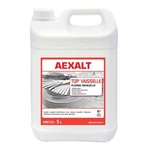 Liquide vaisselle désinfectant TOP\'VAISSELLE Aexalt
