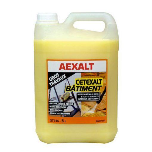 Nettoyant toutes surfaces spécial gros travaux CETEXALT BÂTIMENT Aexalt