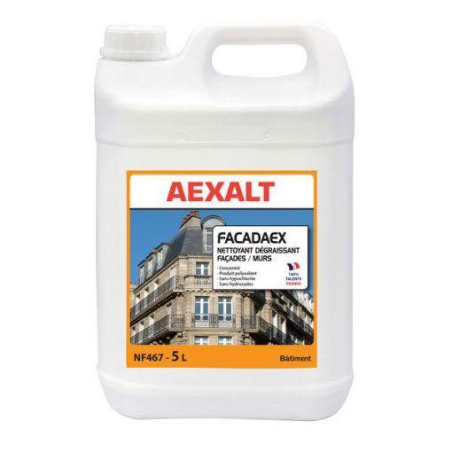 Nettoyant dégraissant façades murs FACADAEX Aexalt