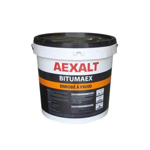 Enrobé à froid spéciale voirie noir et rouge 25kg BITUMAEX Aexalt