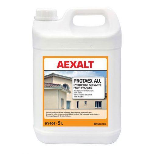 Hydrofuge solvantée façades et toitures PROTAEX ALL Aexalt