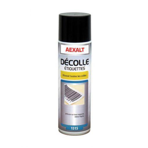 Décolle étiquettes aérosol 650ml Aexalt