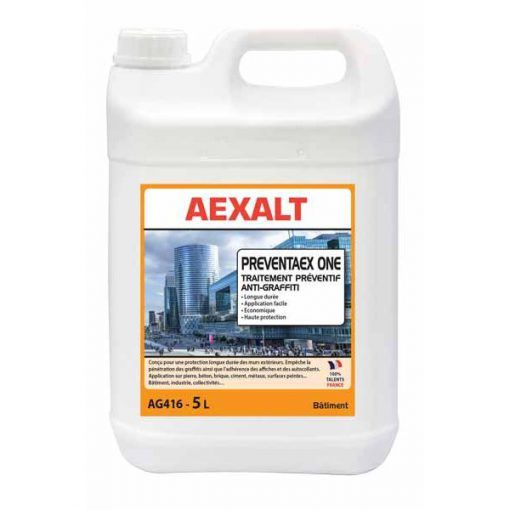 Traitement préventif anti-graffiti 5L PREVENTAEX ONE Aexalt