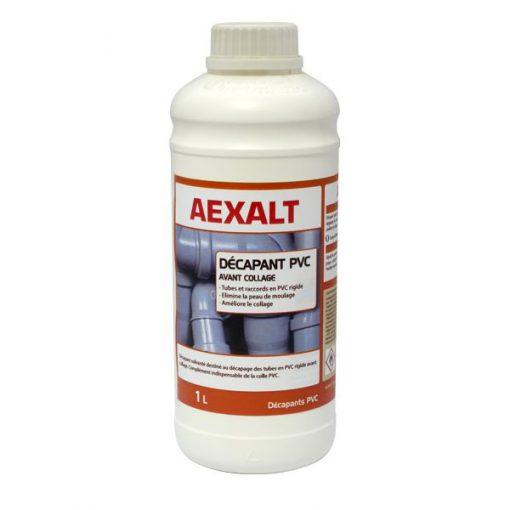 Décapant pour raccords PVC solvant 1L Aexalt