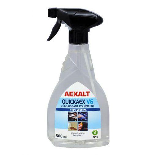 Dégraissant polyvalent base végétale 500ml QUICKAEX VG Aexalt
