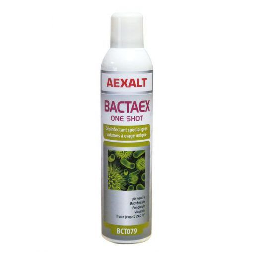 Désinfectant spécial gros volume 405ml BACTAEX ONE SHOT Aexalt