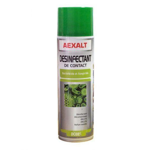 Désinfectant de contact pour EPI aérosol 650ml Aexalt