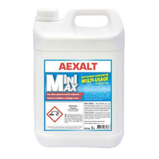 Détergent concentré multi-usages 5L MINI'MAX Aexalt