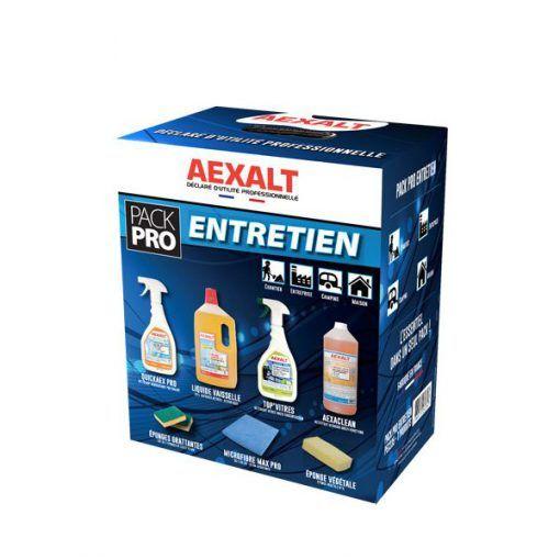 Pack pro entretien ménager du quotidien Aexalt