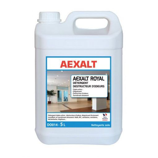 Détergent destructeur d'odeur multi-usage 5L AEXALT ROYAL